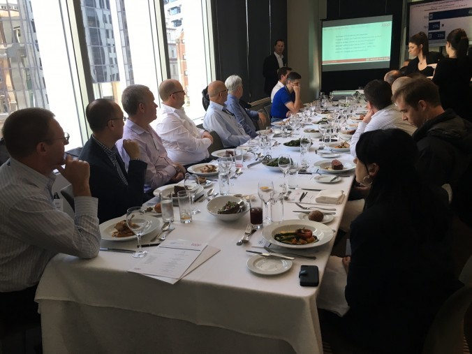 Our customers learnt about the latest approaches to managing