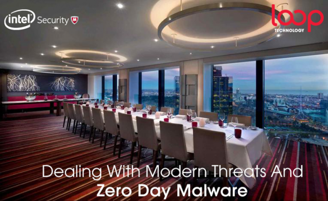 Intel Security/ Loop Next Gen Security Melbourne Event