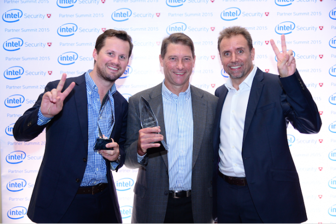 Loop takes out the chocolates at Intel Security APAC Partner Summit